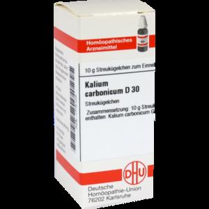 KALIUM CARBONICUM D 30 Globuli