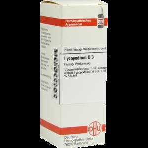 LYCOPODIUM D 3 Dilution
