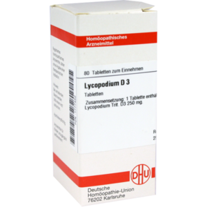 LYCOPODIUM D 3 Tabletten