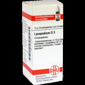 LYCOPODIUM D 3 Globuli
