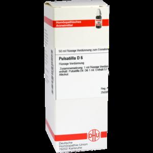 PULSATILLA D 6 Dilution