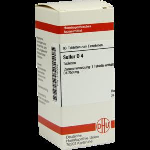 SULFUR D 4 Tabletten