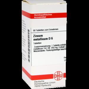 ZINCUM METALLICUM D 6 Tabletten