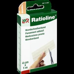RATIOLINE sensitive Wundschnellverband 4 cmx1 m