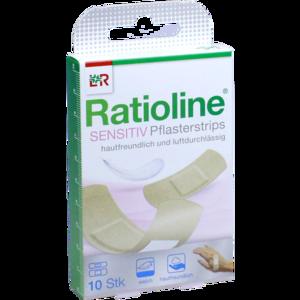 RATIOLINE sensitive Pflasterstrips in 2 Größen