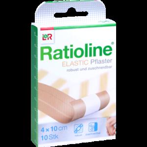 RATIOLINE elastic Wundschnellverband 4 cmx1 m