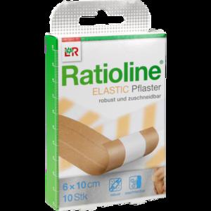 RATIOLINE elastic Wundschnellverband 6 cmx1 m