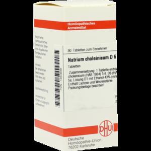 NATRIUM CHOLEINICUM D 6 Tabletten