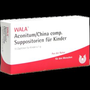 ACONITUM/CHINA comp.Kindersuppositorien