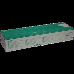 INJEKT Solo Spritze 2 ml Luer zentrisch PVC-frei