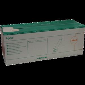 INJEKT Solo Spritze 10 ml Luer exzentrisch PVC-fr.