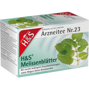 H&S Melissenblätter Filterbeutel