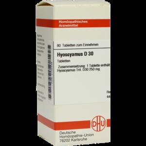 HYOSCYAMUS D 30 Tabletten