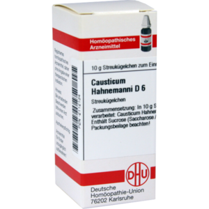 CAUSTICUM HAHNEMANNI D 6 Globuli