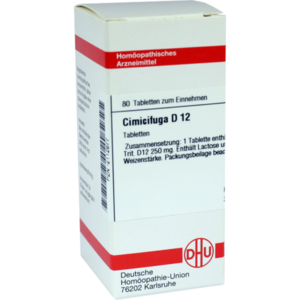 CIMICIFUGA D 12 Tabletten