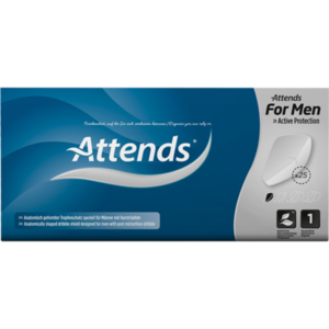 ATTENDS for men Shield 1 Box
