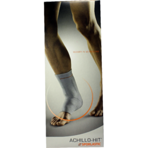 ACHILLO-HIT Bandage links Gr.4 schwarz 07804