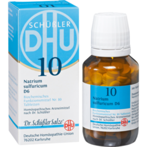 BIOCHEMIE DHU 10 NATRIUM SULFURICUM D 6