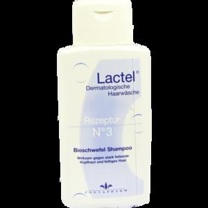 LACTEL Nr.3 Shampoo gegen stark fetten.Kopfhaut