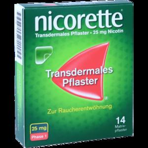 NICORETTE TX Pflaster 25 mg