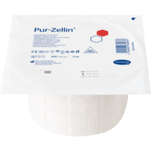 PUR-ZELLIN 4x5 cm unsteril Rolle zu 500 St.