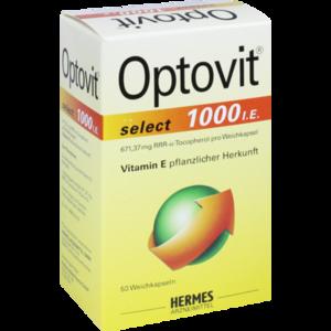 OPTOVIT select 1.000 I.E. Kapseln