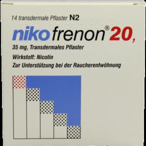 NIKOFRENON 20 transdermale Pflaster