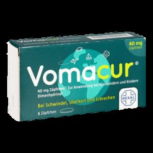 VOMACUR 40 Suppositorien