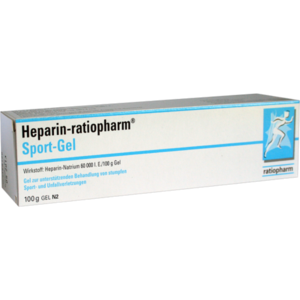 HEPARIN-RATIOPHARM Sport Gel