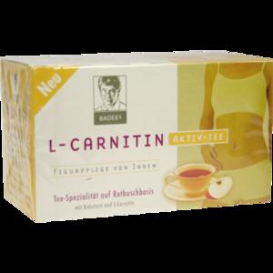 BADERS Aktiv Tee L-Carnitin Filterbeutel