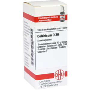 COLCHICUM D 30 Globuli