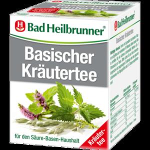 BAD HEILBRUNNER Basischer Kräutertee Filterbeutel