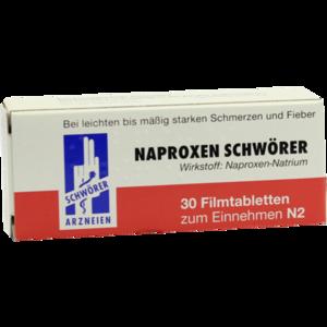 NAPROXEN Schwörer Filmtabletten