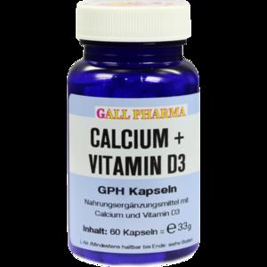 CALCIUM+VITAMIN D3 GPH Kapseln