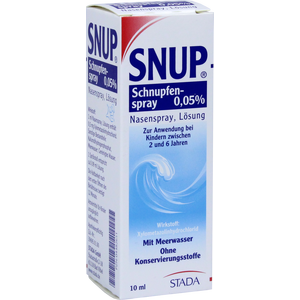 SNUP Schnupfenspray 0,05% Nasenspray