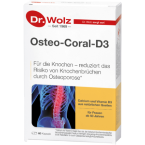 OSTEO CORAL D3 Dr.Wolz Kapseln