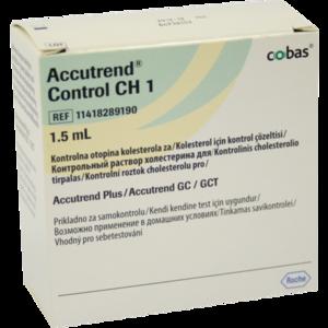 ACCUTREND Control CH 1 Lösung