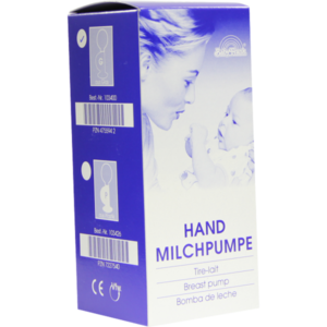 MILCHPUMPE FRANK Hand 2 1/4 Ball Glas 103400