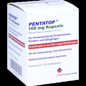 PENTATOP 100 mg Kapseln Hartkapseln