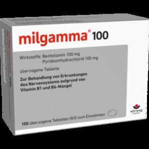 MILGAMMA 100 mg überzogene Tabletten