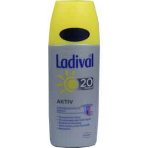 LADIVAL Sonnenschutz Spray LSF 20