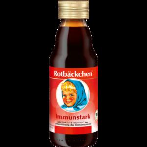 RABENHORST Rotbäckchen Immunstark mini Saft