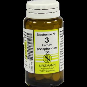 BIOCHEMIE 3 Ferrum phosphoricum D 6 Tabletten