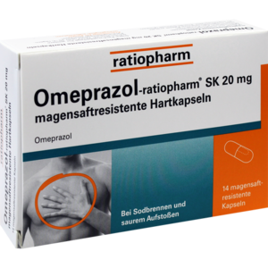 OMEPRAZOL-ratiopharm SK 20 mg magensaftr.Hartkaps.