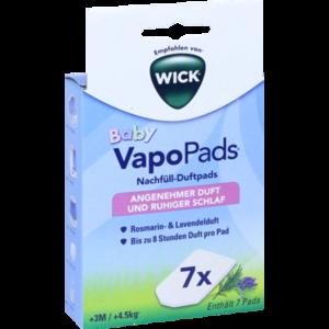 WICK VapoPads 7 Rosmarin Lavendel Pads WBR7