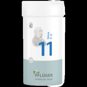 BIOCHEMIE Pflüger 11 Silicea D 12 Tabletten