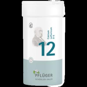 BIOCHEMIE Pflüger 12 Calcium sulfuricum D 6 Tabl.