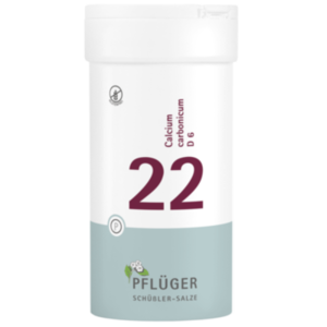 BIOCHEMIE Pflüger 22 Calcium carbonicum D 6 Tabl.