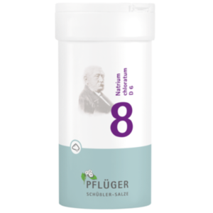 BIOCHEMIE Pflüger 8 Natrium chloratum D 6 Pulver