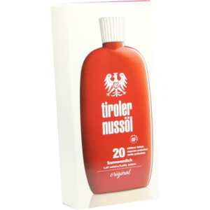 TIROLER NUSSÖL orig.Sonnenmilch wasserf.LSF 20